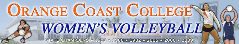Orange Coast College Women's Volleyball